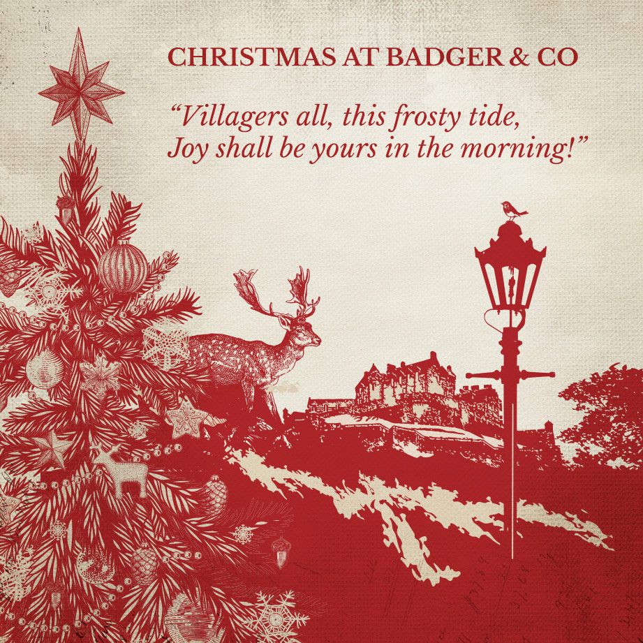 christmas-badger